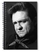 Johnny Cash Close-up The Man Comes Around Music Homage Old Tucson Az  Spiral Notebook