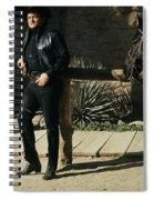 Johnny Cash Horse Old Tucson Arizona 1971 Spiral Notebook