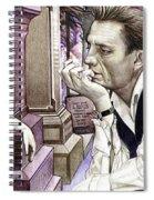 Johnny Cash-hurt Spiral Notebook