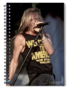Johnny Crash Spiral Notebook