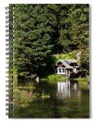 Johnny Sack Cabin Spiral Notebook