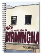 John's City Diner Spiral Notebook