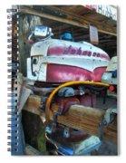Johnson Motor Spiral Notebook