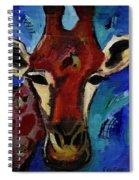 Jolly Giraffe  Spiral Notebook