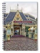 Jolly Holiday Cafe Main Street Disneyland 01 Spiral Notebook