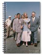Jone Ann Pedersen Miss California June 1949 Spiral Notebook