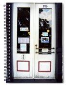 Jonesborough Tennessee Main Street Shop Spiral Notebook