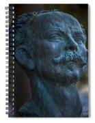 Jose Marti Statue Cadiz Spain Spiral Notebook