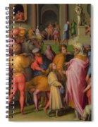Joseph Sold To Potiphar Spiral Notebook