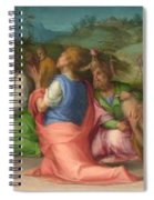 Joseph's Brothers Beg For Help Spiral Notebook