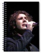 Josh Groban Spiral Notebook