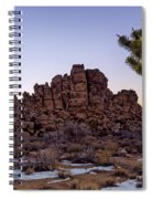 Joshua Sunset Spiral Notebook