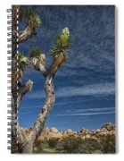 Joshua Tree In Joshua Tree National Park No. 279 Spiral Notebook