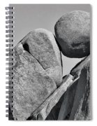 Joshua Tree Rocks Spiral Notebook