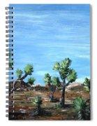 Joshua Trees Spiral Notebook