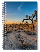 Joshua's Sunset Spiral Notebook