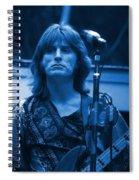 Journey #2 Enhanced In Blue Spiral Notebook