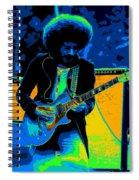 Journey #9 Enhanced In Cosmicolors Spiral Notebook