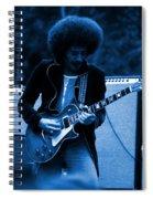 Journey #9 In Blue Spiral Notebook