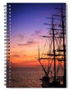 Journey Awaits Spiral Notebook