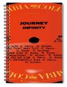 Journey - Infinity Side 1 Spiral Notebook
