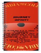 Journey - Infinity Side 2 Spiral Notebook