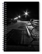Journey Into Darkness Spiral Notebook