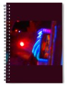 Journey Of The Deep Space Robot Spiral Notebook
