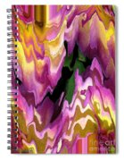 Jowey Gipsy Abstract Spiral Notebook