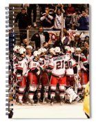 Joy Of Victory Agony Of Defeat Spiral Notebook