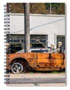 Joy Riding Spiral Notebook