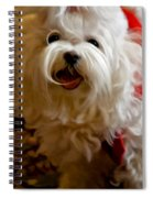 Joy To The World Spiral Notebook