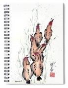 Joyful Excursion Spiral Notebook