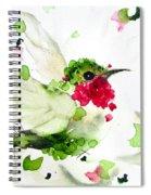 Joyful Flight Spiral Notebook