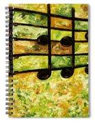 Joyful - Lemon Lime Spiral Notebook