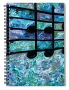 Joyful - Ocean Spiral Notebook