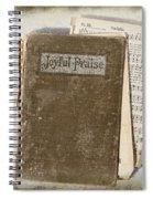 Joyful Praise Spiral Notebook