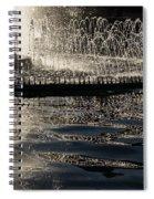 Joyful Sunny Splashes Spiral Notebook
