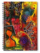 Joyfully Living Life Anew Spiral Notebook