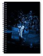 Jt #10 In Blue Spiral Notebook