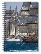 Juan Sebastian Elcano Stad Amsterdam Spiral Notebook