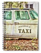 Juarez Taxi Spiral Notebook