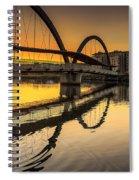 Jubia Bridge Naron Galicia Spain Spiral Notebook