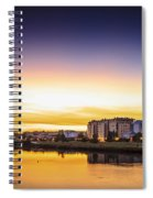 Jubia River Naron Galicia Spain Spiral Notebook