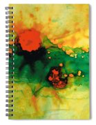 Jubilee - Abstract Art By Sharon Cummings Spiral Notebook