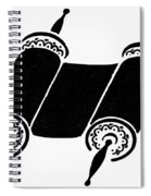 Judaism Torah Spiral Notebook