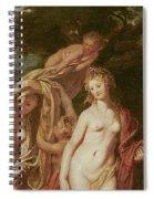 Judgement Of Paris Spiral Notebook