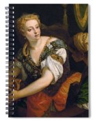 Judith With The Head Of Holofernes Spiral Notebook