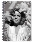 Judy Garland Mgm Publicity Photo Presenting Lily Mars Clarence Sinclair Bull Photo 1943-2014 Spiral Notebook