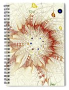 Juggle Spiral Notebook